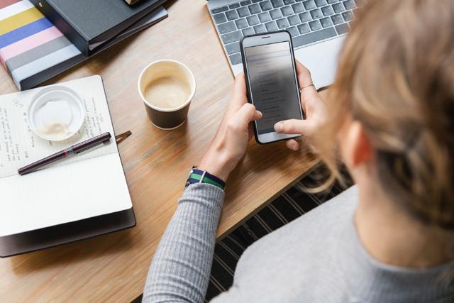 Are mobile phone breaks the new fag breaks?