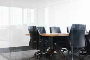 empty boardroom meeting