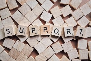 support scrabble letters