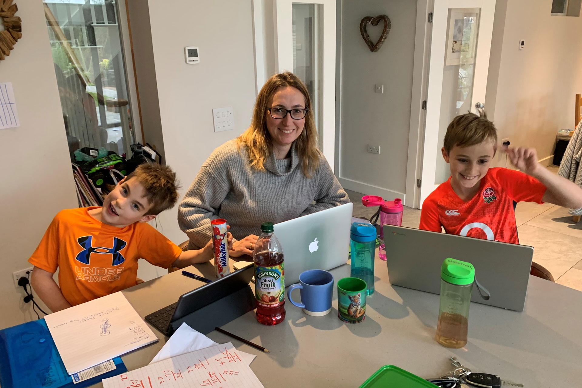 Juggling home schooling and my full-time job